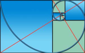 Image of Golden Rectangle-based form used by artist Doug Craft